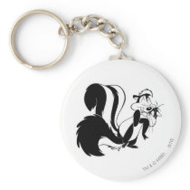 Pepe Le Pew and Penelope Keychain