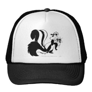 Pepe Le Pew and Penelope Trucker Hat