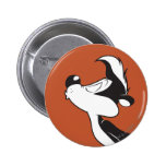 Pepe Le Pew Kissing Button
