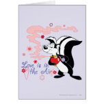 Pepe Le Pew Love is in the Air Greeting Cards