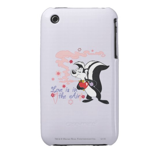 Pepe Le Pew Love is in the Air iPhone 3 Case-Mate Case