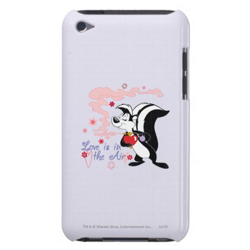 Pepe Le Pew Love is in the Air iPod Case-Mate Case
