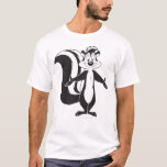 """PEPE LE PEW™ Standing Tall T-Shirt<br><div class=""""desc"""">Pepe Le Pew Character Art</div>"""