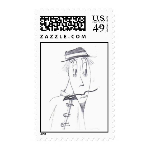 Pepe the Painter Postage Stamps