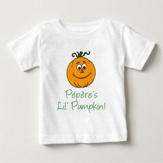 Pepere's Little Pumpkin Baby T-Shirt