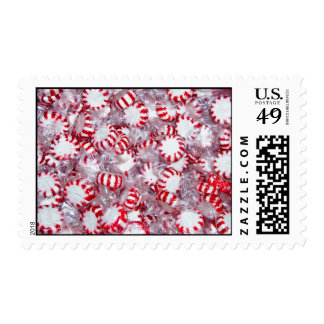 Pepermint Candies Postage