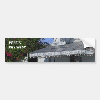 Pepe's Café Key West Bumper Sticker