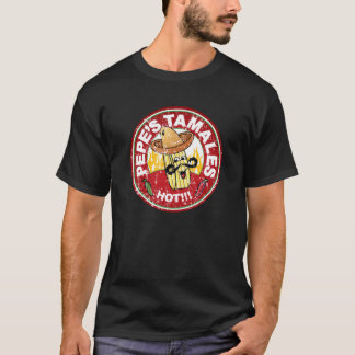 Pepe's Tamales Vintage Mexican Food Restaurant T-Shirt