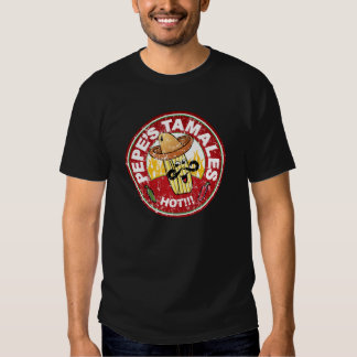 Pepe's Tamales Vintage Mexican Food Restaurant Tee Shirt