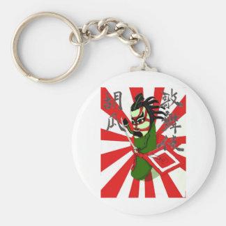 Pepino 1 de Kabuki Llavero Redondo Tipo Pin