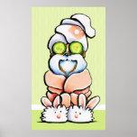 Pepino de Shih Tzu del balneario del mascota del Póster