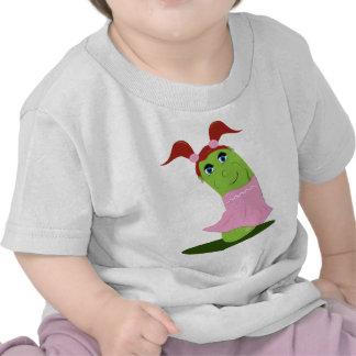 Pepino del chica camisetas