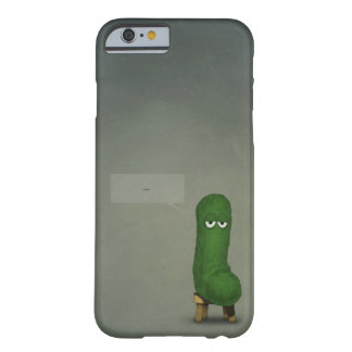 Pepino triste funda para iPhone 6 barely there