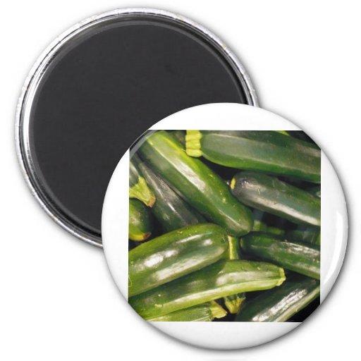 pepinos brillantes imanes para frigoríficos