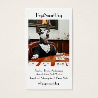 PepiSmartDog Business Cards (5)