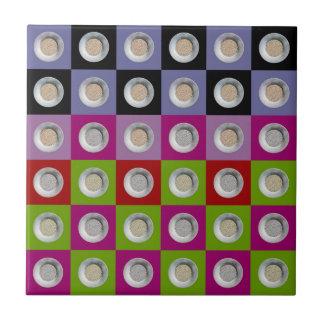 pepita collage 6x6 tile