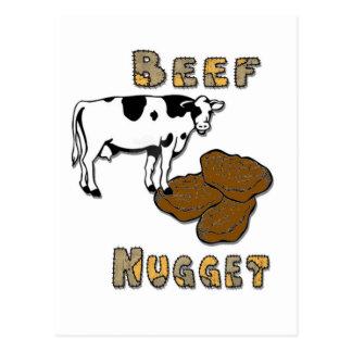 Pepita de la carne de vaca tarjetas postales