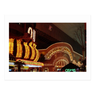 Pepita de oro de Las Vegas Postales
