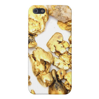 Pepita de oro iPhone 5 fundas