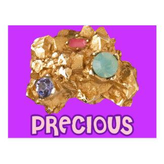 Pepita de oro Jeweled Tarjetas Postales