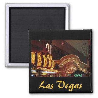 Pepita de oro Las Vegas Imán Cuadrado