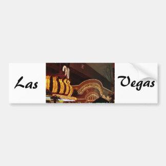 Pepita de oro Las Vegas Pegatina Para Auto