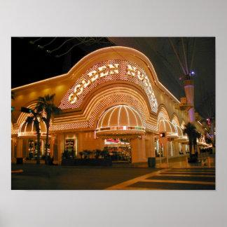 Pepita de oro Las Vegas Póster