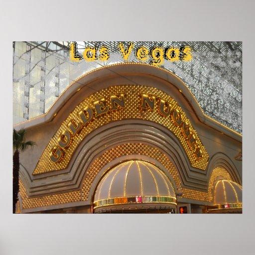 Pepita de oro Las Vegas Posters