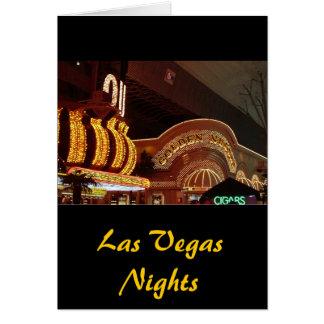 Pepita de oro Las Vegas Tarjeta De Felicitación