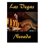 Pepita de oro Las Vegas Tarjeta Postal