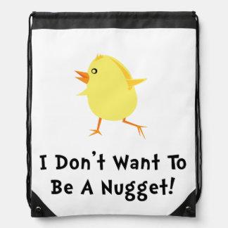 Pepita de pollo mochila