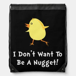 Pepita de pollo mochilas