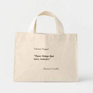 Pepita del nirvana - plantilla del bolso bolsa