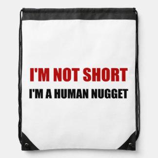 Pepita humana no corta mochilas