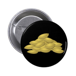 Pepitas de la comida de la interferencia pin redondo de 2 pulgadas