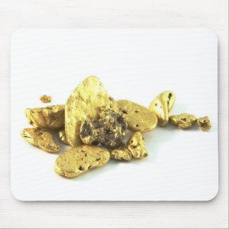 Pepitas de oro alfombrilla de ratones