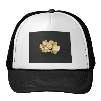 Pepitas de oro gorras