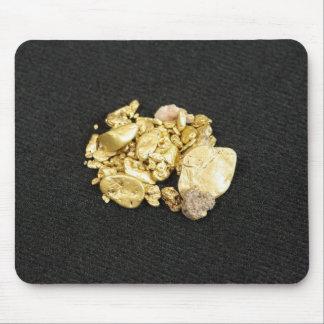 Pepitas de oro mouse pad