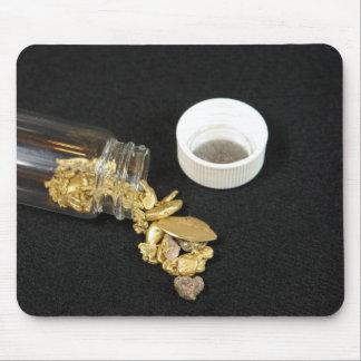Pepitas de oro mouse pads