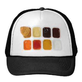 pepitas de pollo gorras de camionero