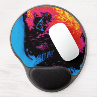 pepper and plastic silenced gel mouse pad