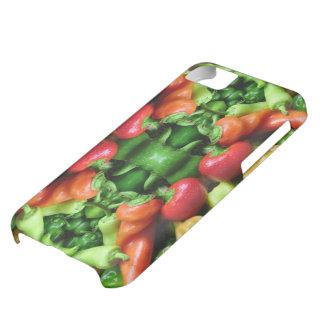 Pepper as Art - Spicy Abstract iPhone 5C Covers