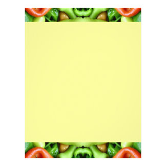 Pepper as Art - Spicy Abstract Letterhead