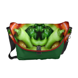Pepper as Art - Spicy Abstract Courier Bag