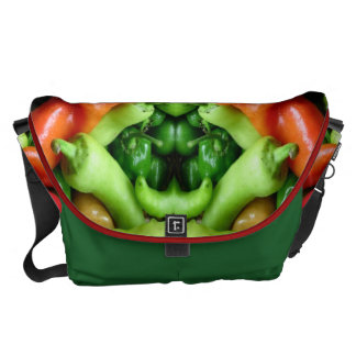 Pepper as Art - Spicy Abstract Courier Bags