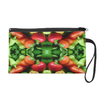 Pepper as Art - Spicy Abstract Wristlet