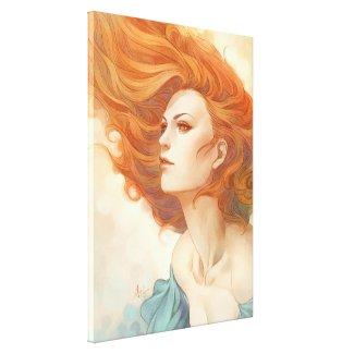 Pepper Breeze New Stretched Canvas Prints