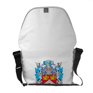 Pepper Coat of Arms - Family Crest Messenger Bag