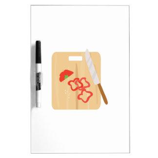 Pepper Cutting Board Dry Erase White Board