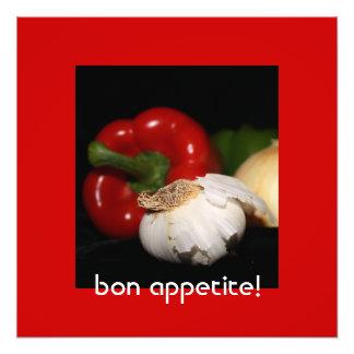 Pepper Garlic Onion Photo Enlargement